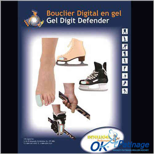 Protection gel doigt de pied (digit defender)