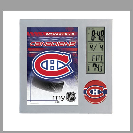 gadget nhl horloge de bureau. Black Bedroom Furniture Sets. Home Design Ideas