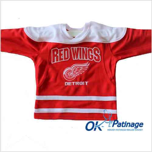 Mighty Mac maillot Red Wings Enfant-0016