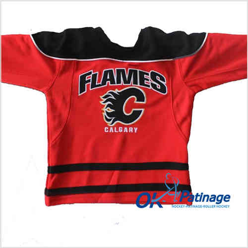Mighty Mac maillot NHL Calgary enfant-0005