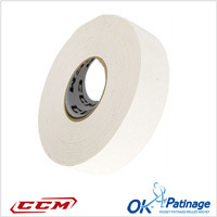 CCM tape blanc 25 m x 36 mm