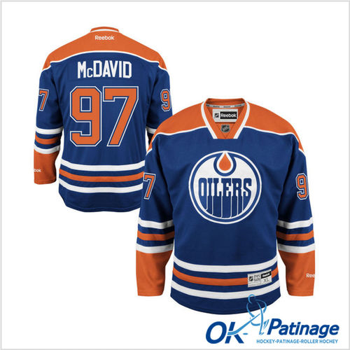 Reebok maillot NHL Oilers Mc DAVID