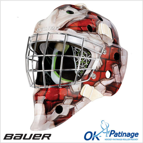 Bauer masque NME4 Wall Red-0002