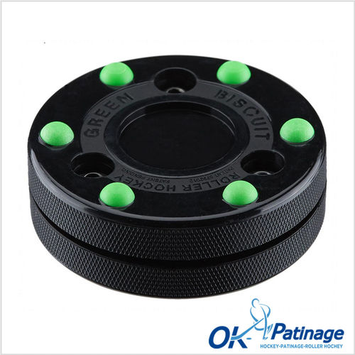 Green Biscuit palet roller Hockey