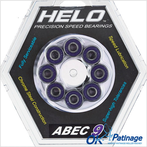 Helo roulements Abec 9-0001